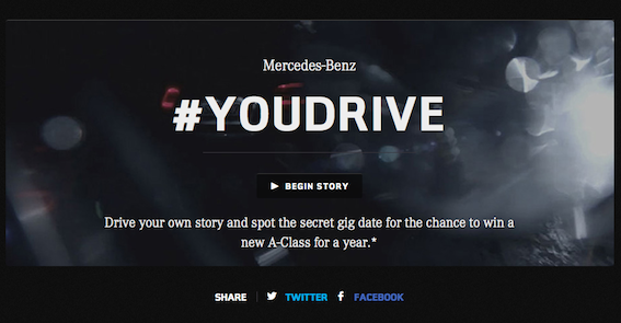 【海外事例紹介】Mercedes-Benz 「You Drive」TVとTwitterの連動企画 | twitter.marketing (279)